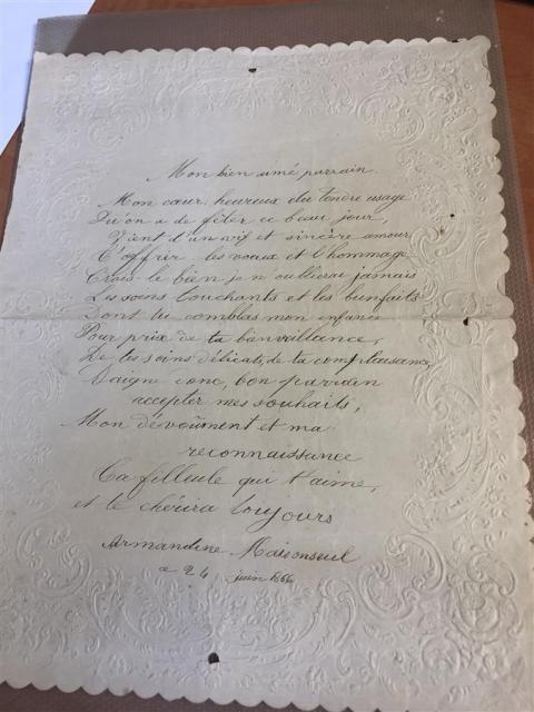 ENSEMBLE De Documents Revolutionnaires Autographes Cartes Visite Casimir Perier
