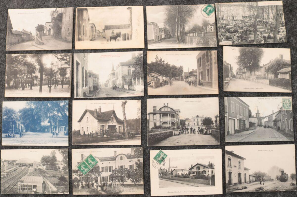 TIMBRES, LETTRES & CARTES POSTALES ANCIENNES