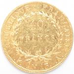 Premier Empire (1804-1814). 40 Francs or An 13 A Paris....